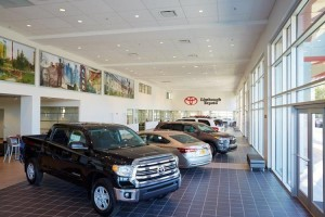 Limbaugh Toyota Showroom